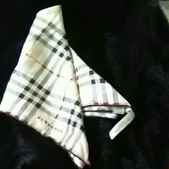 3ffc7812d8a Burberry Accessories - Vintage Burberry Bandana Scarf.